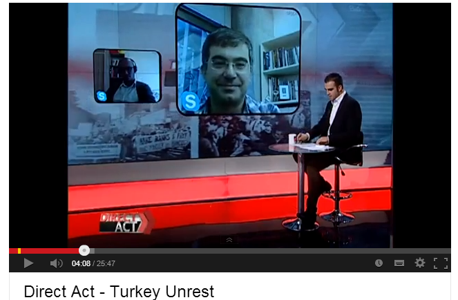 Direct Act   Turkey Unrest   YouTube Erkan Saka