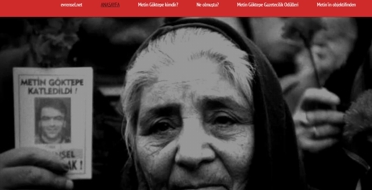 Metin Göktepe  Bu yürek susmayacak   www.evrensel.net
