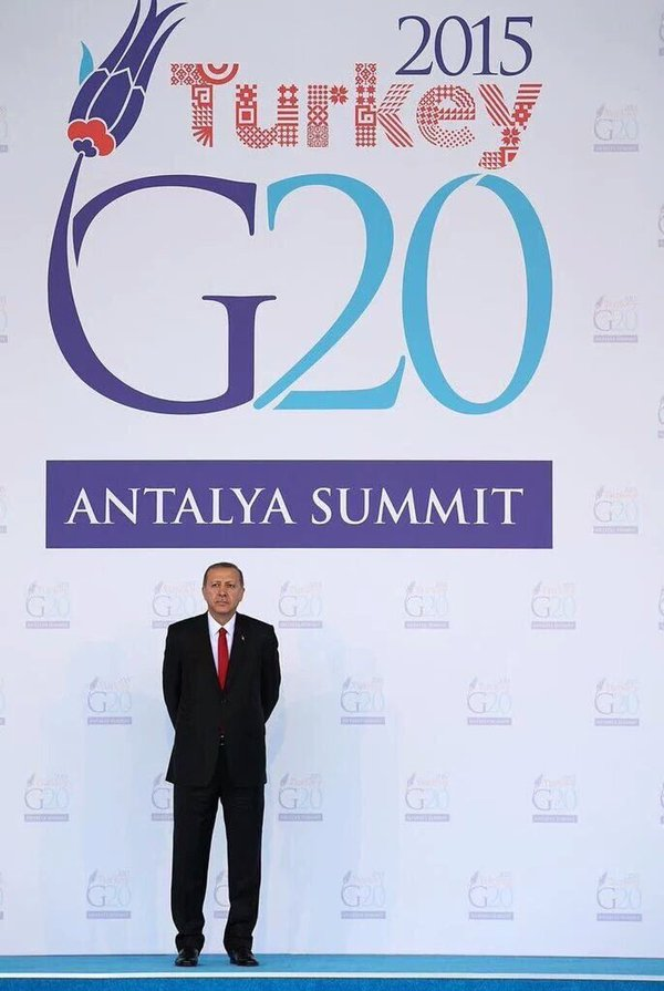 #G20 Summit: In service for Turkey's President Erdoğan's personal reputation building…