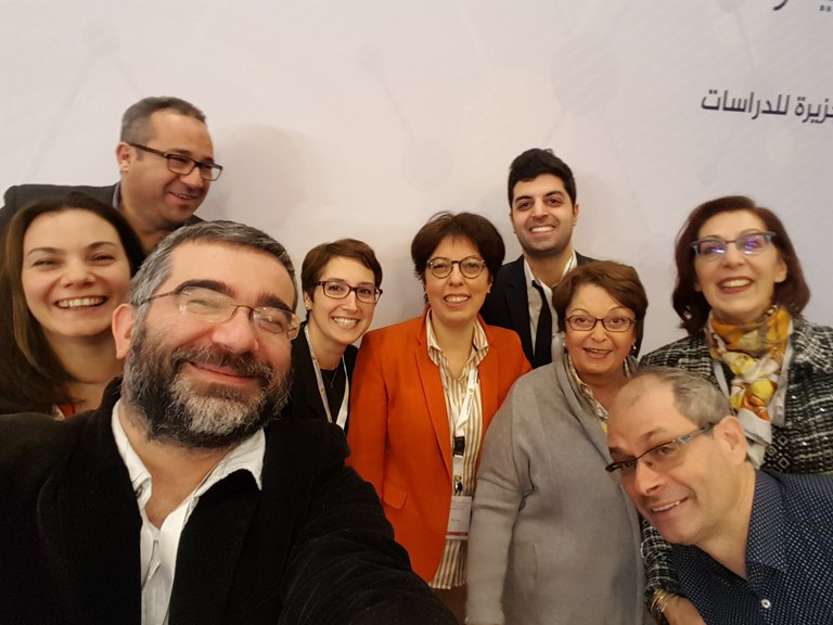"""Our Doha conference news: """"University of Cambridge – Al Jazeera Center for Studies Media Project Conference held in Doha, January 7-8, 2017 — Centre for the Study of the International Relations of the Middle East and North Africa"""