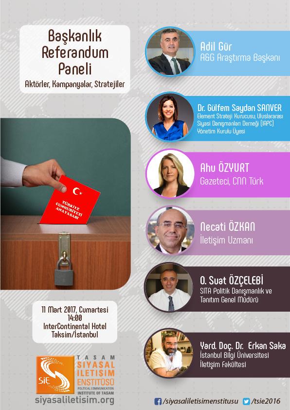 11 Mart'ta Başkanlık Referandumu Paneli (by @tsie2016)