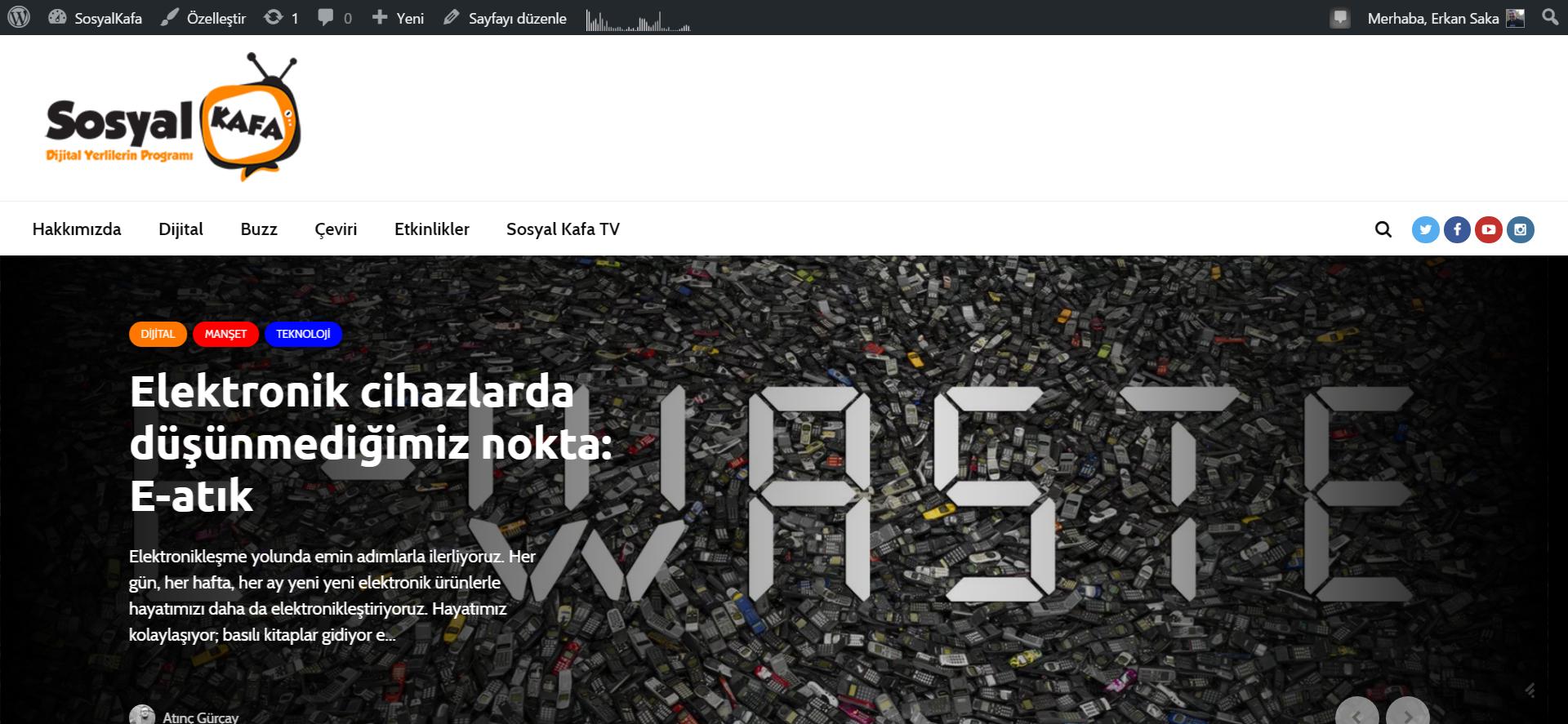 Buyrun yenilenmiş @sosyalkafa sitesine. @korsanparti den @safaksonn ve biraz da @ardacetin desteğiyle!