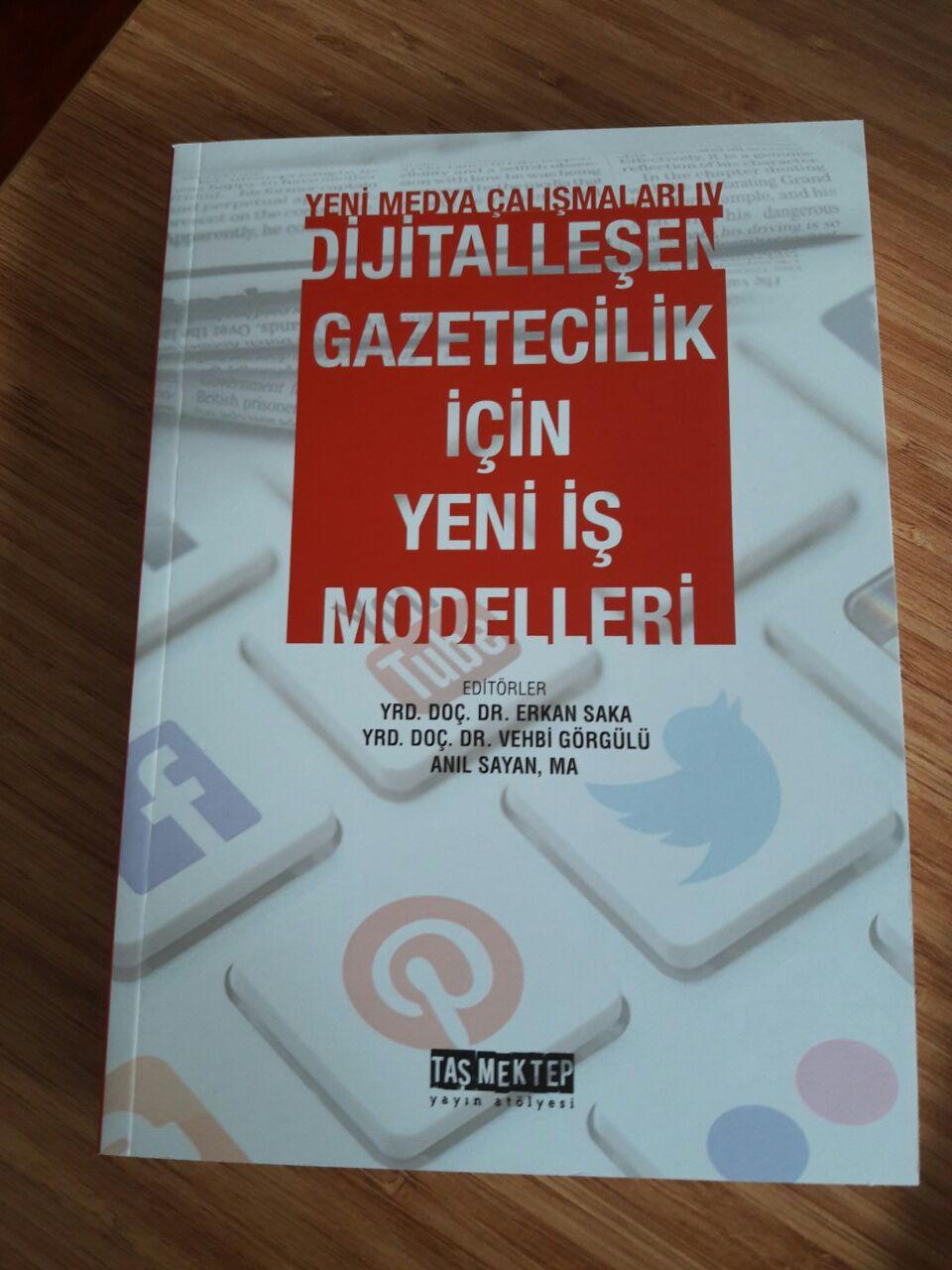 """Kitabımız çıktı! """"Dijitalleşen Gazetecilik İçin Yeni İş Modelleri"""" #MedyaEkonomisi"""