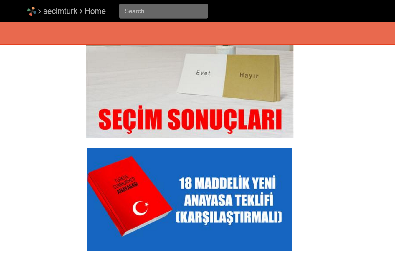 Enjoy (probably) the best source on #TurkeyReferendum (in Turkish) #seçimtürk #pub204
