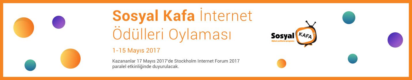 .@SosyalKafa İnternet Ödülleri Oylaması Başladı!