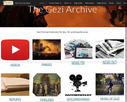 "In its 5th anniversary of #OccupyGezi a wiki-like project: ""The Gezi Archive"" #Gezi5Yaşında #GeziyiHatırla"