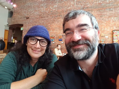 Guess with whom I met in Seattle: @nerdseyeview